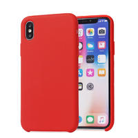 Wholesale Custom Liquid Silicone Mobile Accessories Back Cover Cell Phone Case For Iphone  Luxury Phone Case