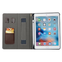 Pencil Slots Dust-proof  Leather Tablet Cover Cases For Ipad Tablet 5 6